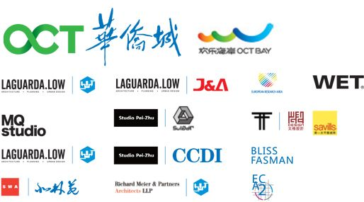 shenzhen websites logos | oct bay | a product of global wisdom, Powerpoint templates