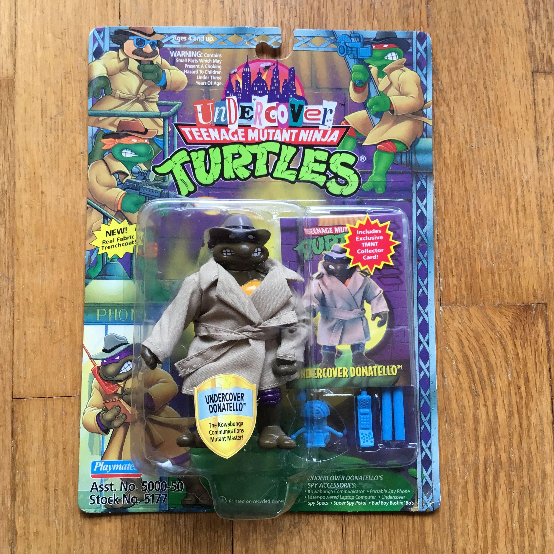 1990 Don Undercover Turtle Complete TMNT Vintage Mutant Ninja Turtles Figure