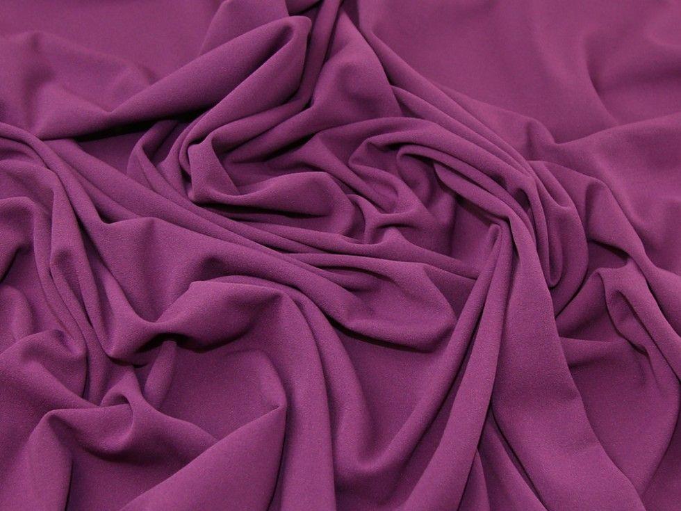 Cerise Pink Plain Scuba Bodycon Jersey Stretch Fabric | Etsy