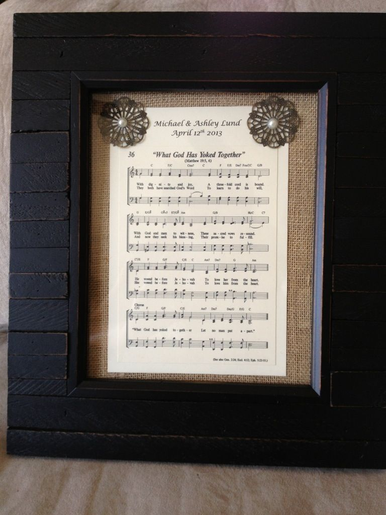 My Diy Wedding Gift To My Cousin Sing Praises To Jehovah Song