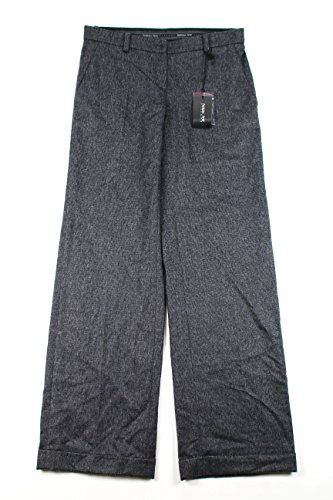 Patrizia Pepe Womens Dress Pants Size 28 US  42 EU Regular Grey Virgin Wool -- Details can be found by clicking on the image.