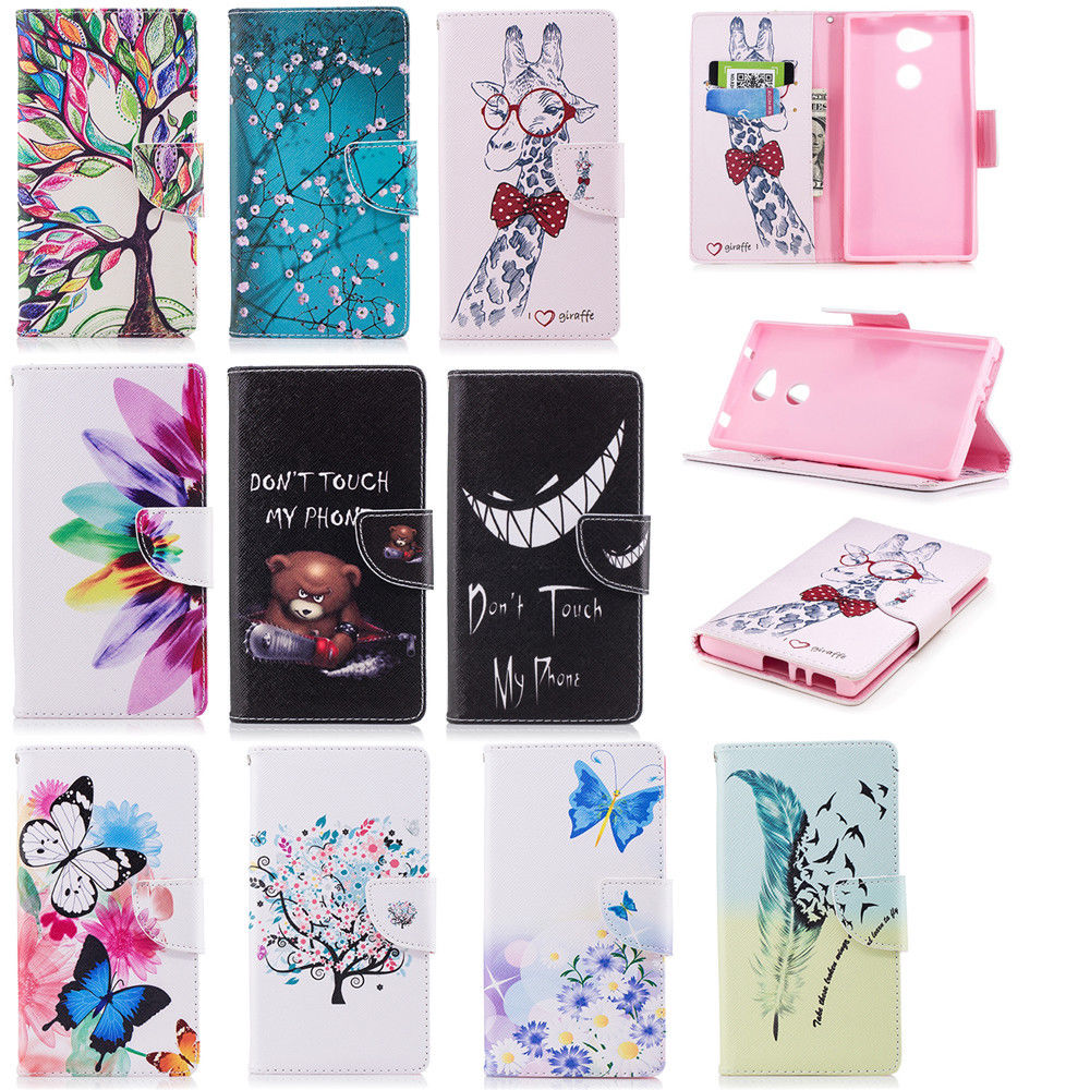 official photos 9f7dc e6b88 2.55 GBP - Leather Wallet Flip Magnetic Patterned Case Cover Pouch ...