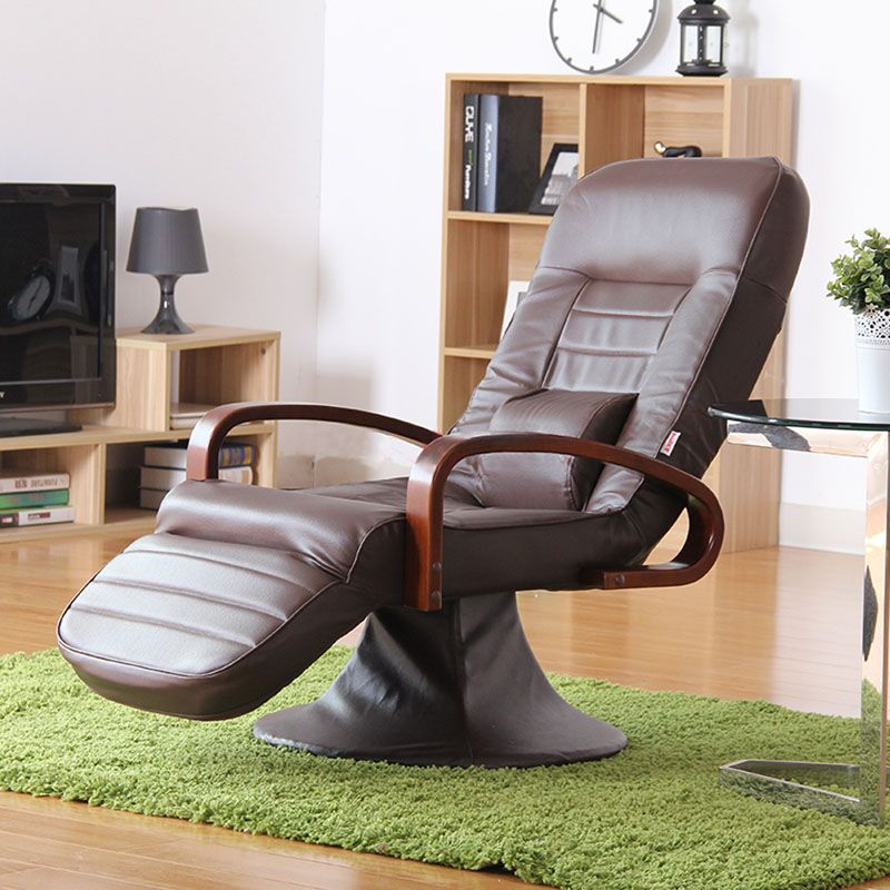 comfortable home office chair. Computer Chair Leather Brown 360 Degree Swivel Modern Home Office Furniture Reclining Comfortable Executive Design