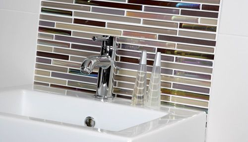 Murano Beige and Mink | Bathroom wall tile design ...