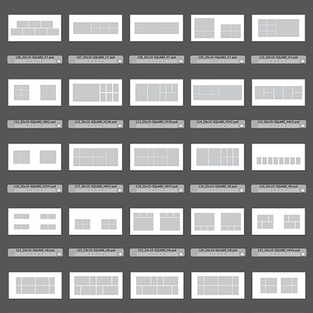 150 Square Al Design Templates For Photo Indesign Dough