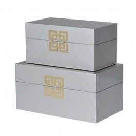Silver Oriental Boxes New Season Furniture Lighting