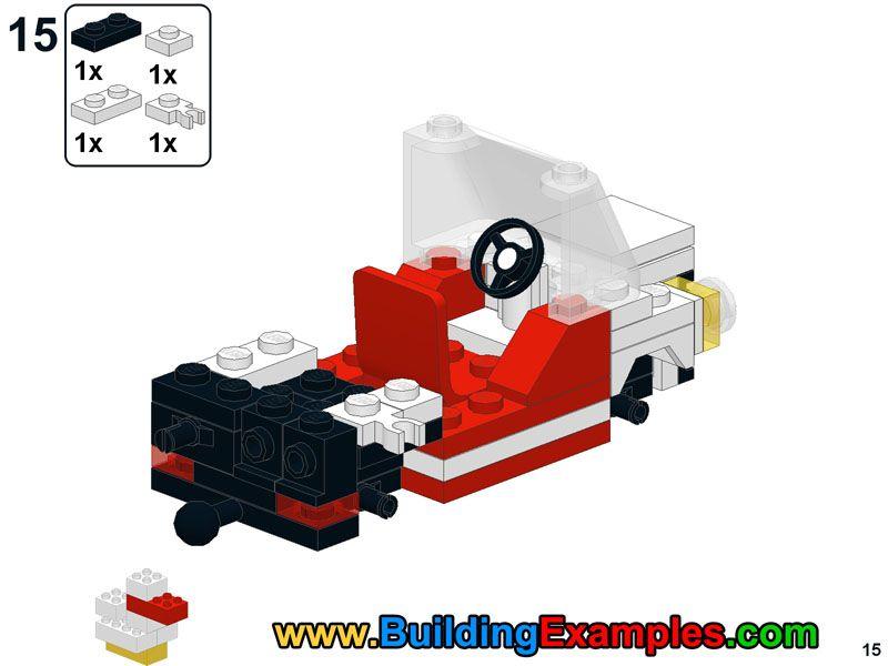 Lego Mini Moke 15 Lego Instructions Pinterest Lego Lego