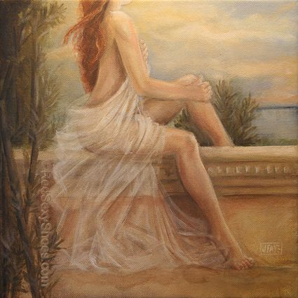 Sea Dreams, painting by jacqui faye