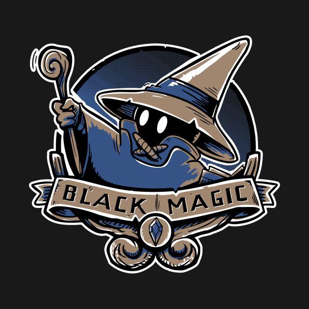 Check Out This Awesome Black Magic School Design On Teepublic Schwarze Magie Final Fantasy Vektorgrafik