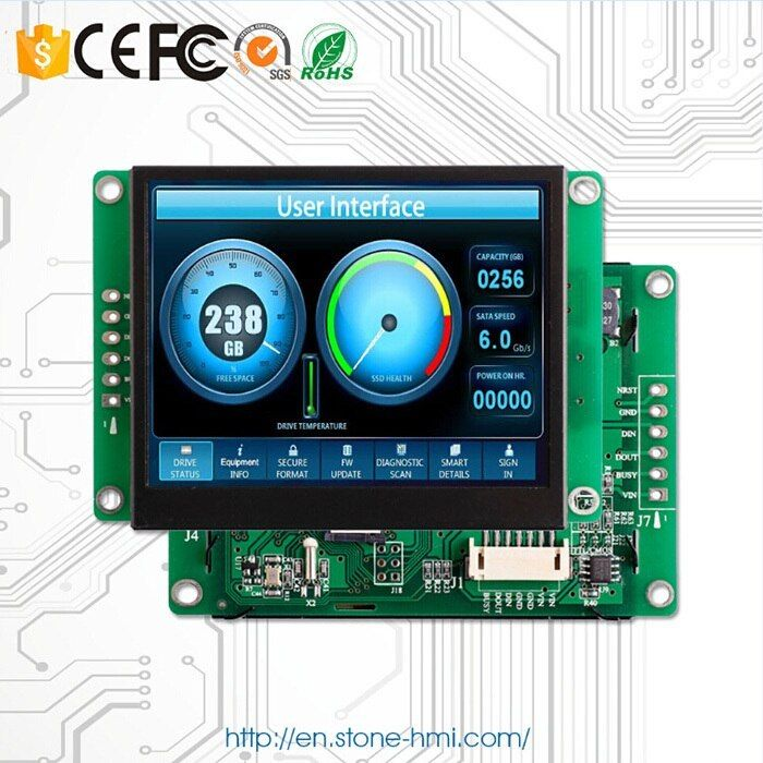 10.1 Inch TFT LCD Industrial Control Board With RS232/ RS485/ TTL 10.1 Inch TFT LCD Industrial Control Board With RS232/ RS485/ TTL.