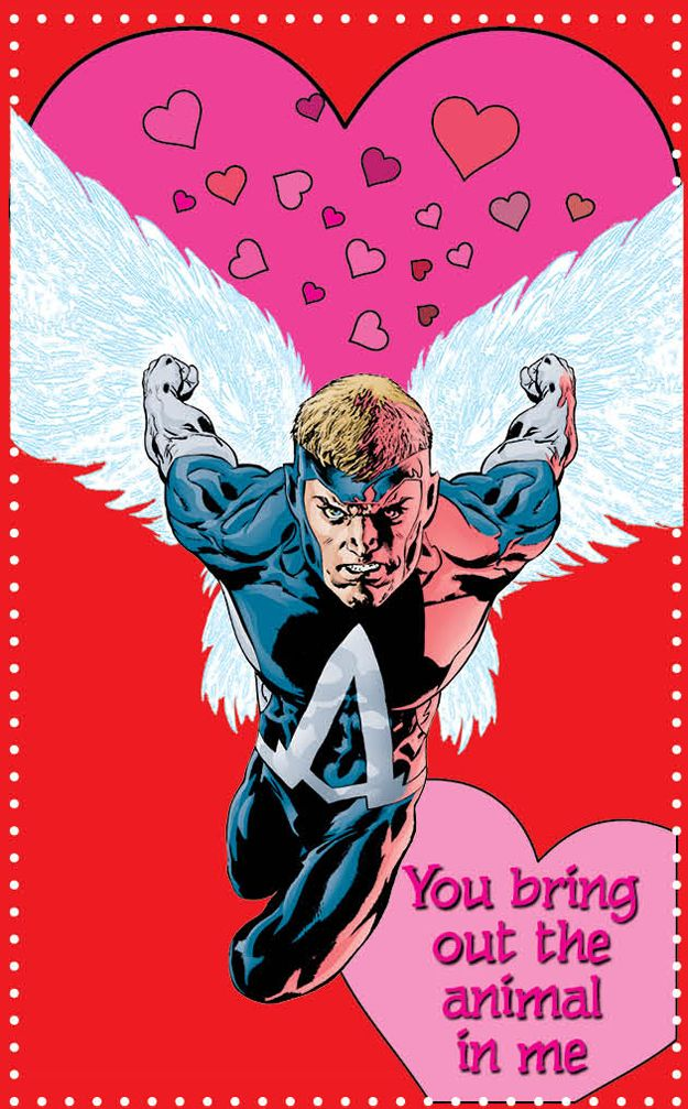 17 dc new 52 superhero valentine's day cards to groan at, Ideas
