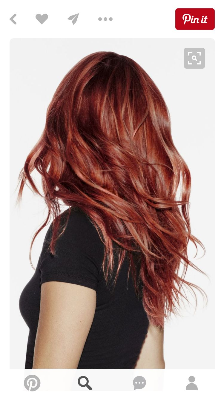 Pin By Bree Hulse On My Style Pinterest Hair Coloring Red Hair