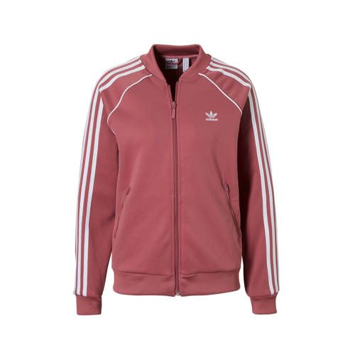Vest oudroze - Adidas originals, Lange mouwen en Mouwen