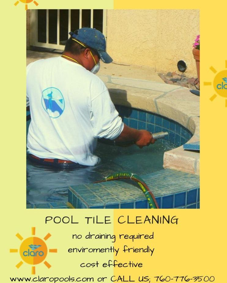 Get your pool cleaned NOW! Just because it is winter, it