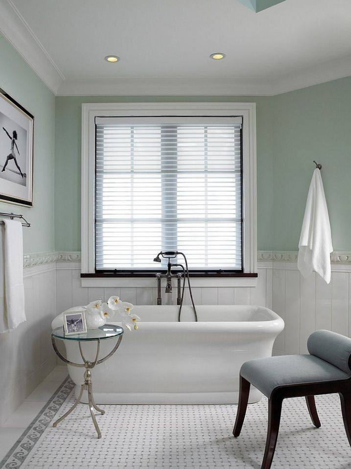 Idées Décoration Pour Une Salle De Bain Verte - Idees deco salle de bains