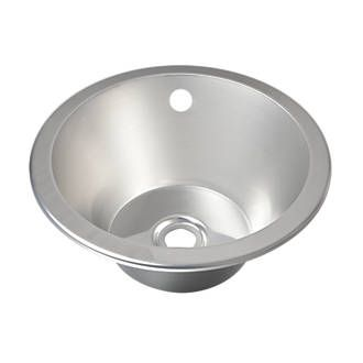Franke Round Inset Sink Stainless Steel 1 Bowl 355 x 305mm | Sinks ...