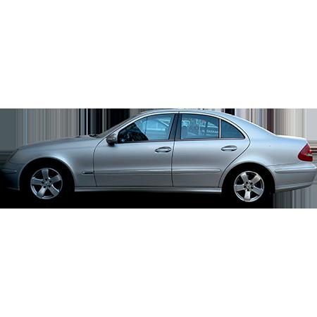 Silver Car Sedan Side Elevation Immediate Entourage Silver Car Car Sedan
