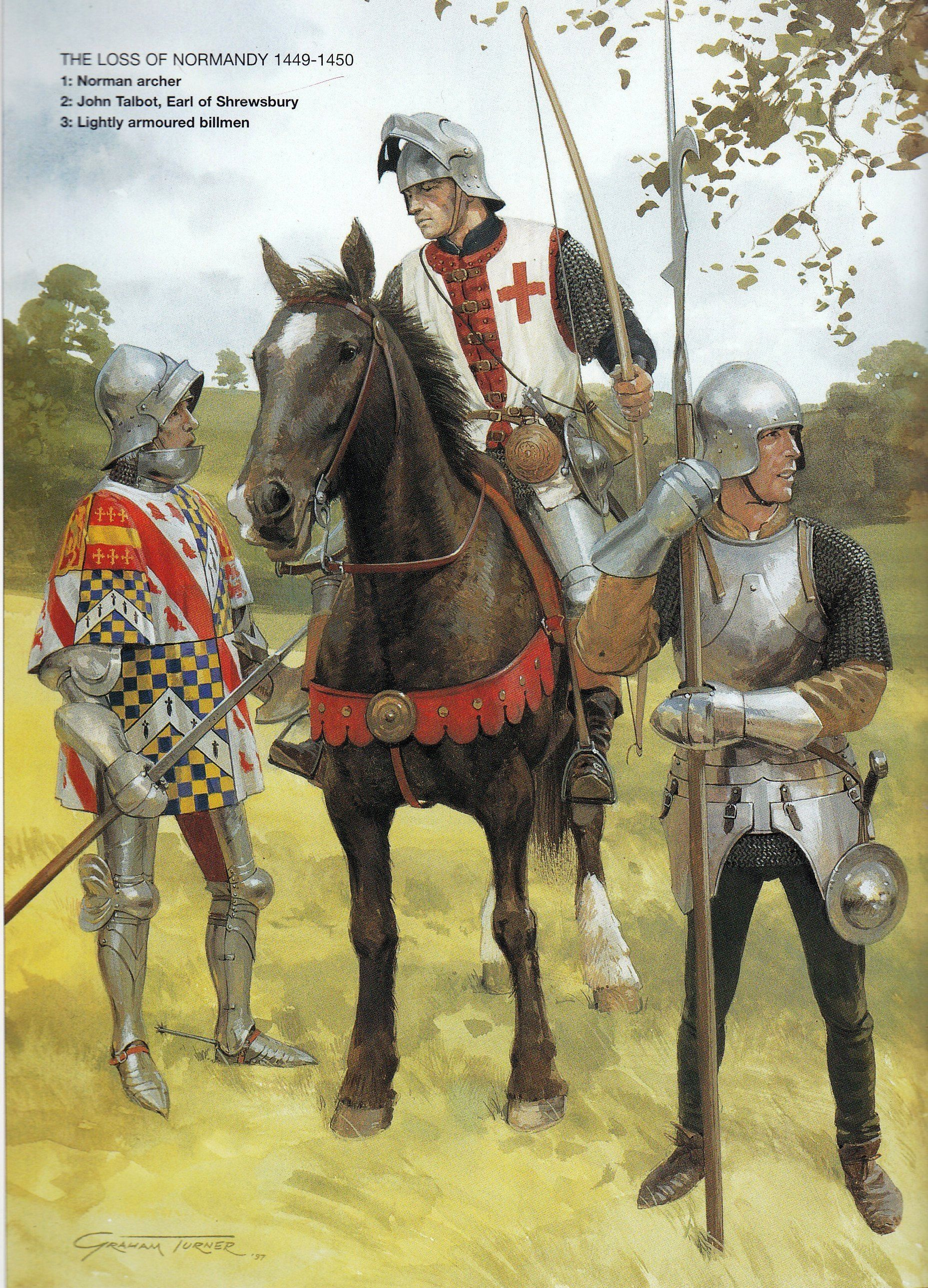 English Sol Rs At The End Of The Hundred Years War