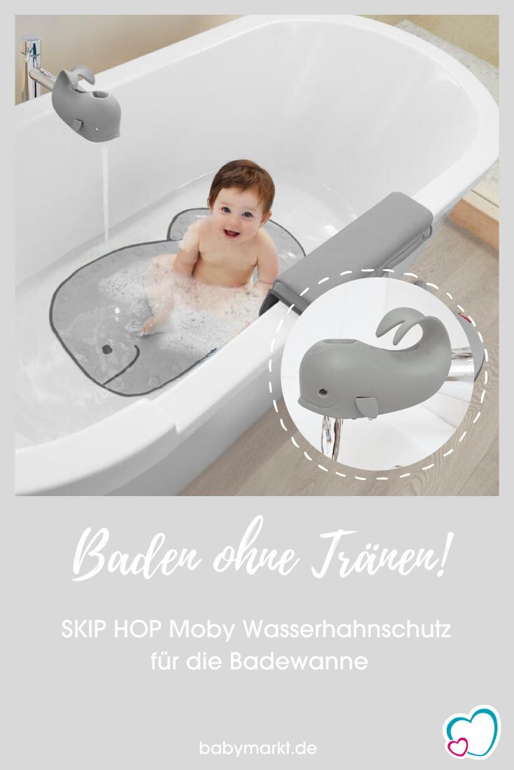 Der Wasserhahnschutz Fur Die Badewanne Der Niedliche Wahl Moby Verhindert Dass Sich Kinder Am Wasserhahn Den Kopf Stossen Oder In 2020 Badewanne Baden Wasserspielzeug