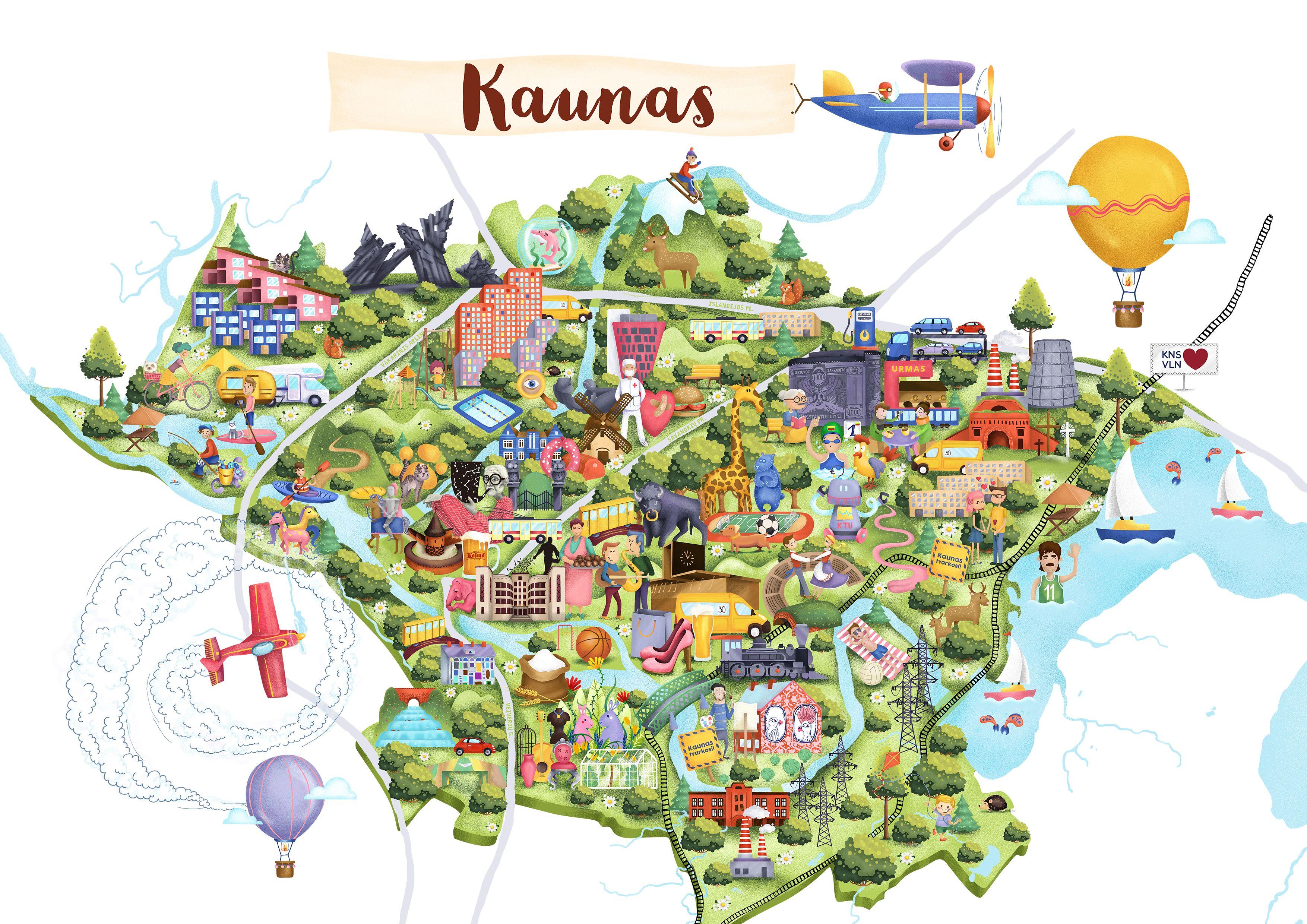 A4 Kaunas Jpg 3508 2480 Kaunas Lithuania