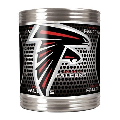 Team Pro Mark Nfl Stainless Steel Can Holder Nfl Team Atlanta Falcons Atlanta Falcons Can Holders Stainless Steel Bar