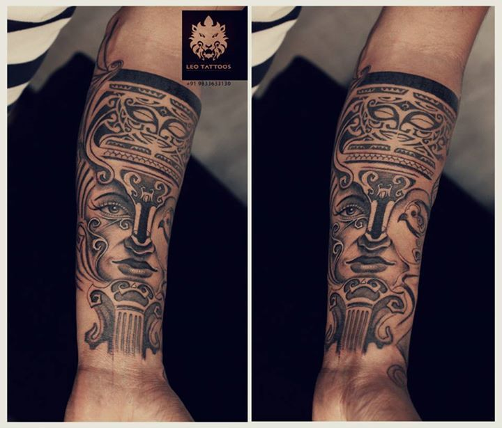 #Maori #freehand #drawing #eyes #maoriculture #art #symbols #tattoo #leotattoos #matunga #Mumbai #India