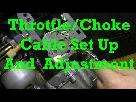 How Throttle And Choke Linkage Is Setup On A Briggs 2 Piece Carburetor New Engine Youtube Engineering Small Engine New Engine