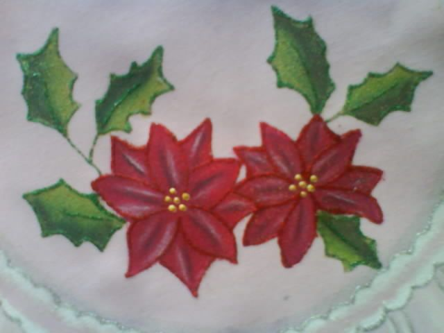 El blog de las cositas de gina camino de mesa carpetas y - Paneras de tela ...