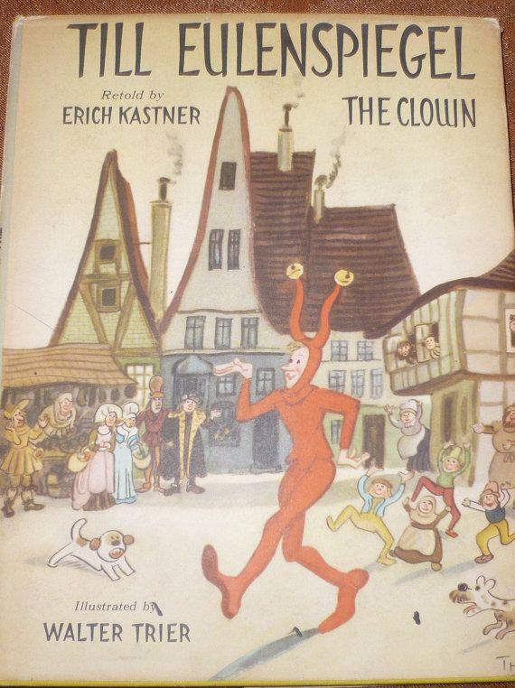 Till Eulenspiegel The Clown Book 1957 Price Reduced A Classic