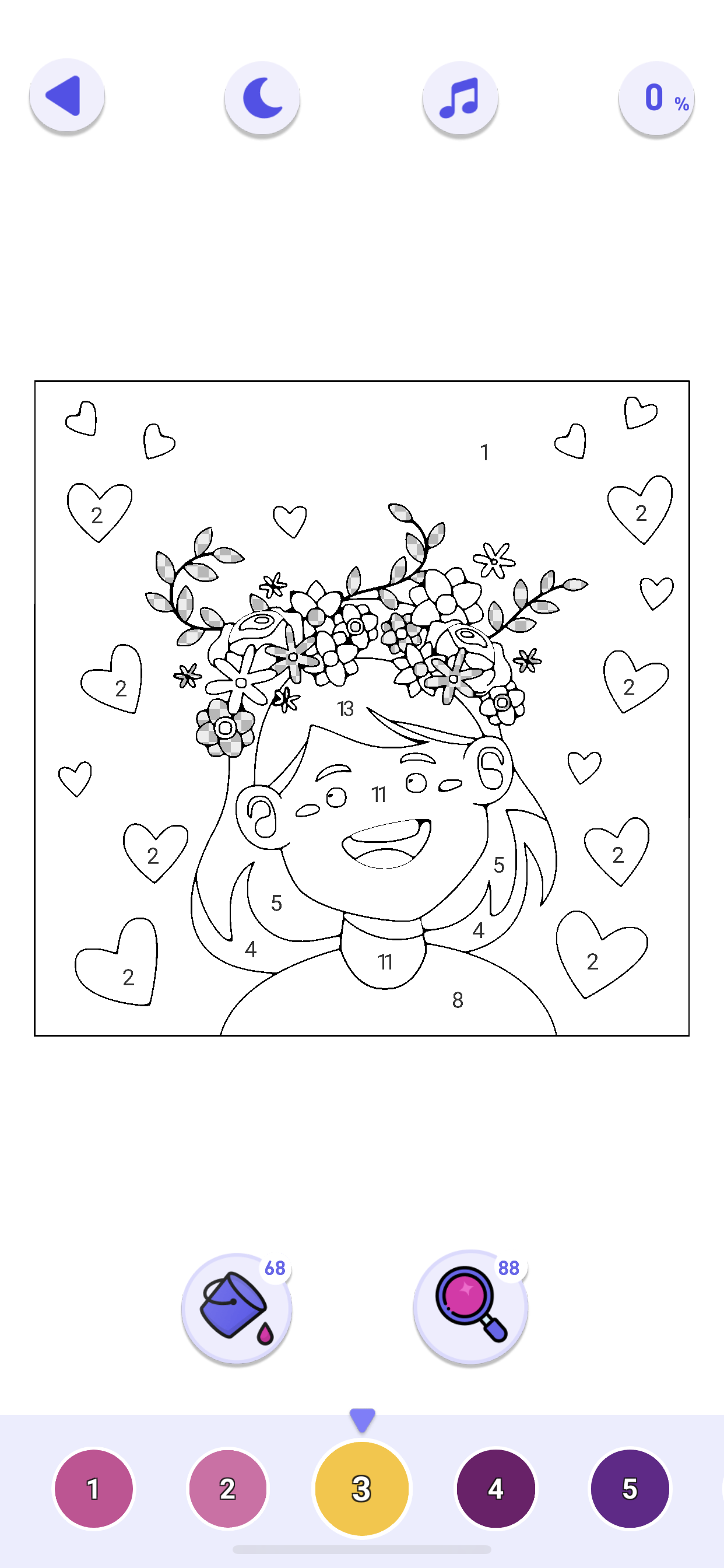 Best Coloring Pages Install For Free Paint By Numbers Happy Color Color By Numbers