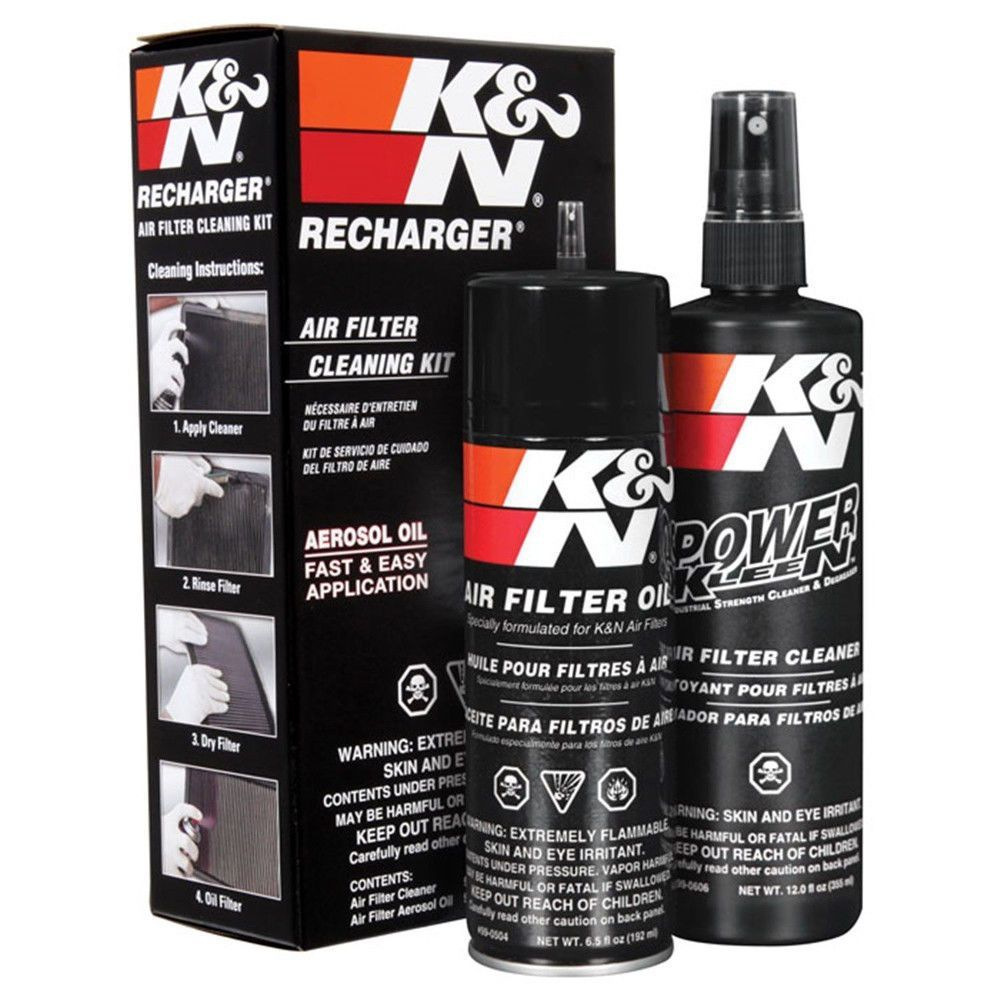 Details about K&N Air Filter Recharger Service Kit 6.5