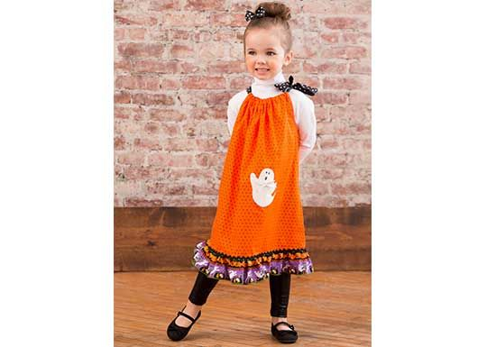 Halloween Drawstring Dress