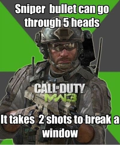 Funny Video Game Logic We Can System Link Call Of Duty In The