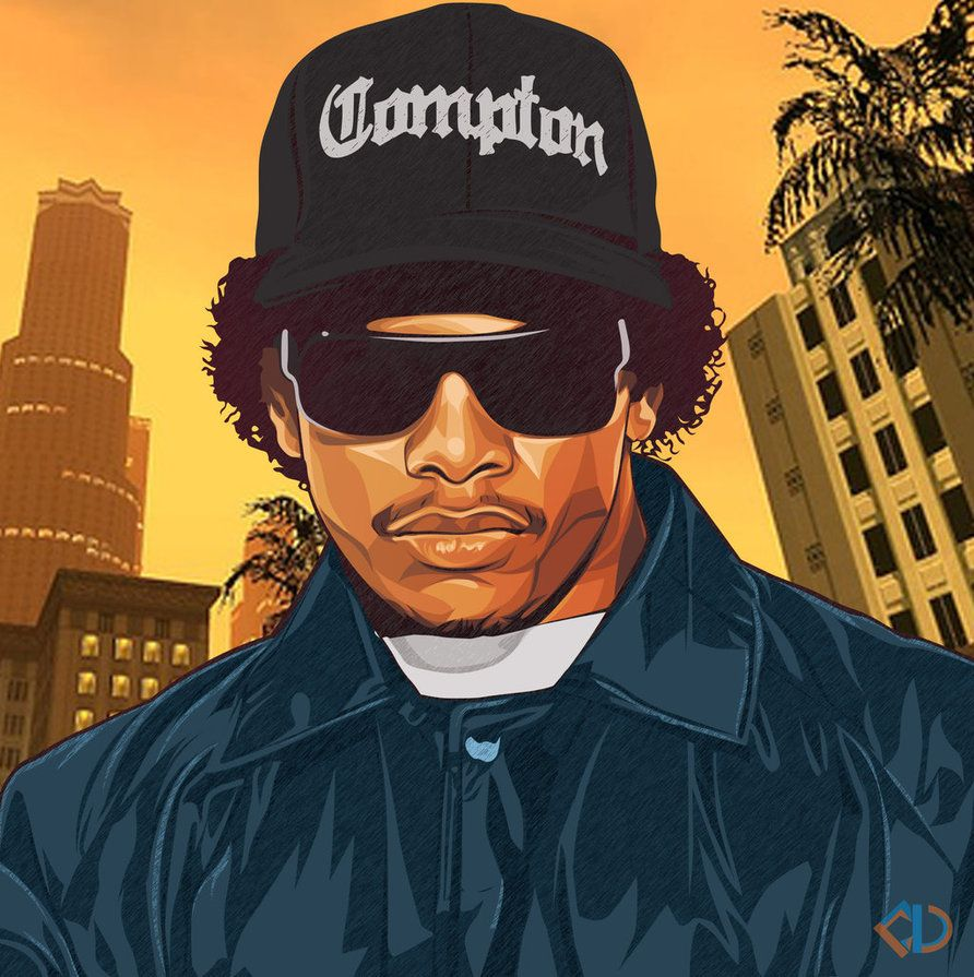 Eazy E By Https Gthugart01 Deviantart Com On Deviantart Rap Wallpaper Wallpaper Hip Hop
