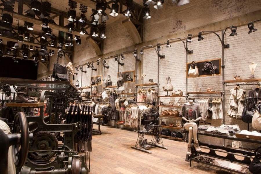 Industrial Store Interior