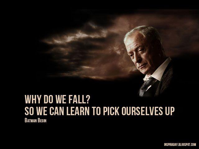 Alfred - Batman Begins | Inspiration & Quotes | Pinterest ...