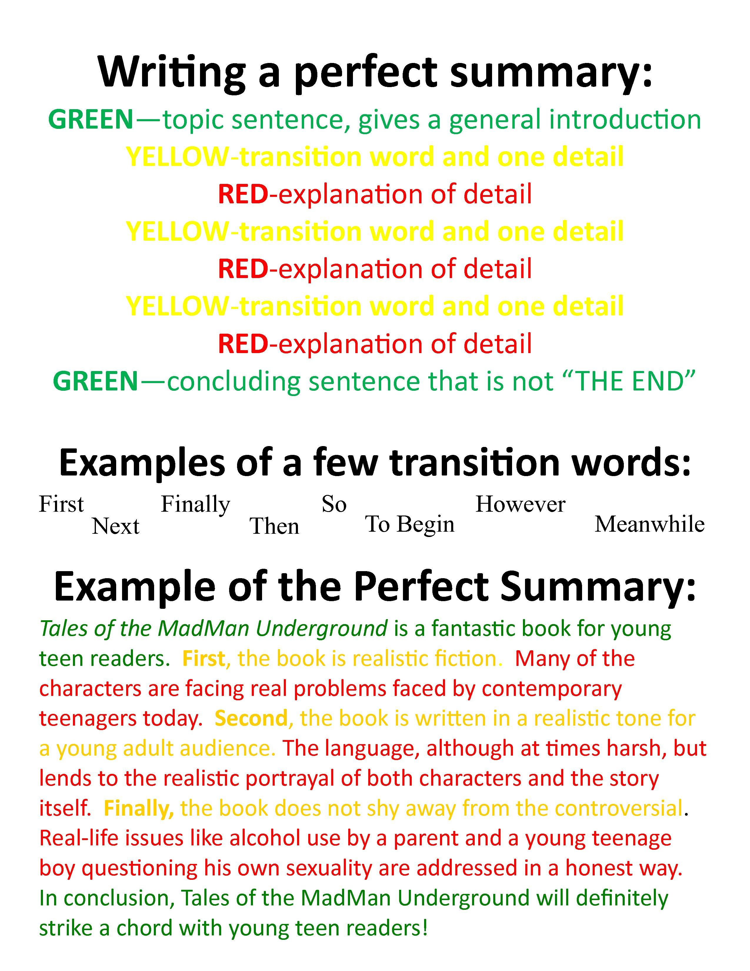 How To Summarize An Article Sample - arxiusarquitectura