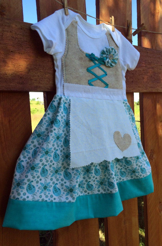 Blue apron germany - 12 Month German Dirndl Dress Baby Dirndl Oktoberfest Dress By Adasaccessories4me On Etsy