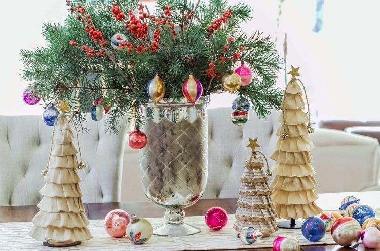 deco noel de table a faire soi meme