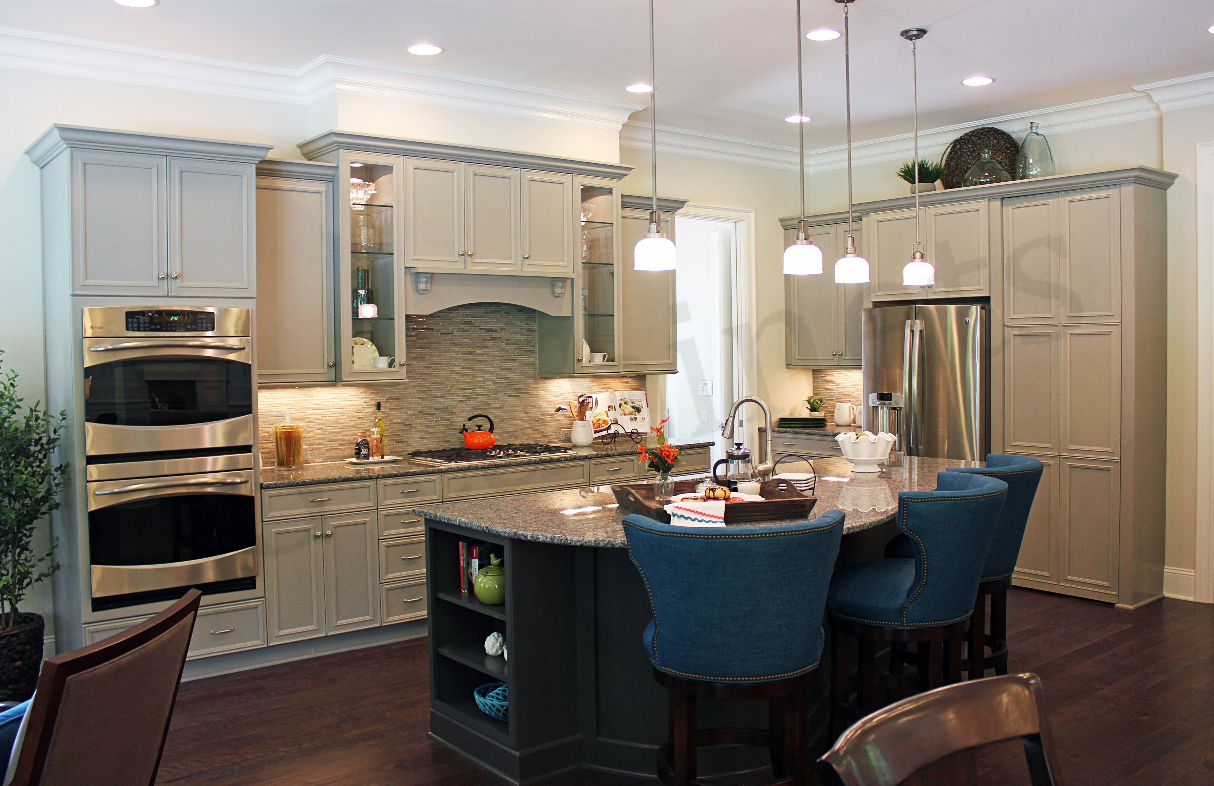 Dara Barber Manager Of The Charlotte Kitchen Design Company Cabinets And Details How Technology Functionality Are Now Essential To