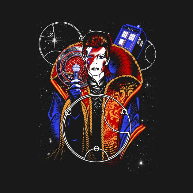 DOCTOR STARMAN T-Shirt - David Bowie T-Shirt is $11 today at Ript!