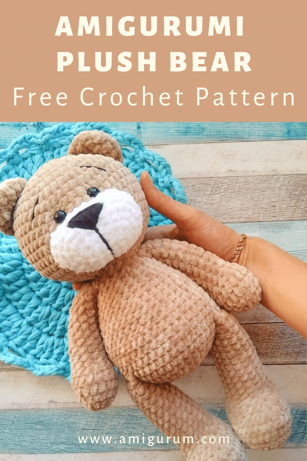 FREE plush bear pattern
