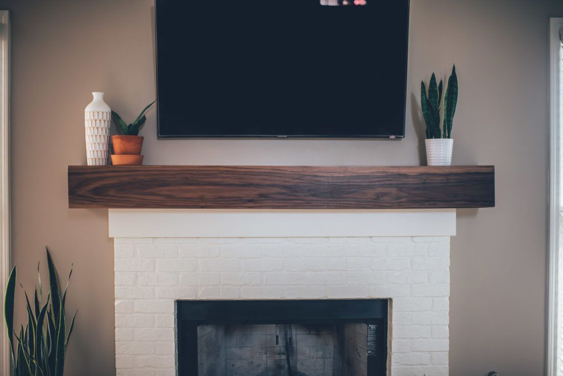 Modern White Brick Fireplace & Walnut Mantel DIY #whitebrickfireplace Modern White Brick Fireplace & Walnut Mantel DIY – The Southern Trunk #whitebrickfireplace Modern White Brick Fireplace & Walnut Mantel DIY #whitebrickfireplace Modern White Brick Fireplace & Walnut Mantel DIY – The Southern Trunk #whitebrickfireplace