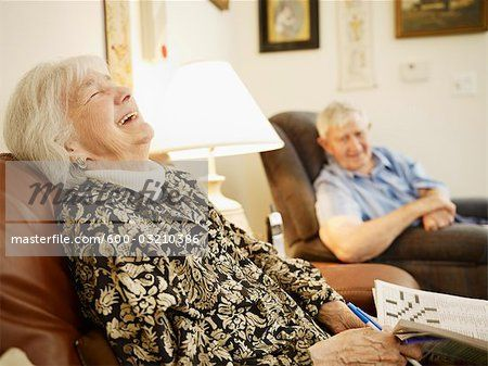 People Sitting In Recliners Stock Photos Page 1 Masterfile Elderly Couples People Sitting Growing Old Together