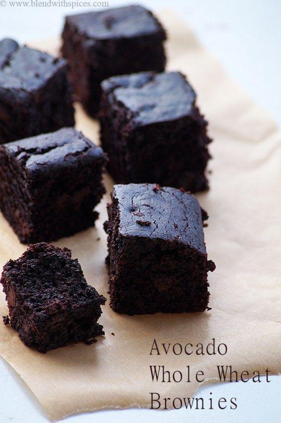 Brownie Vegano Com Abacate Brownie Vegano Abacate Farinha De