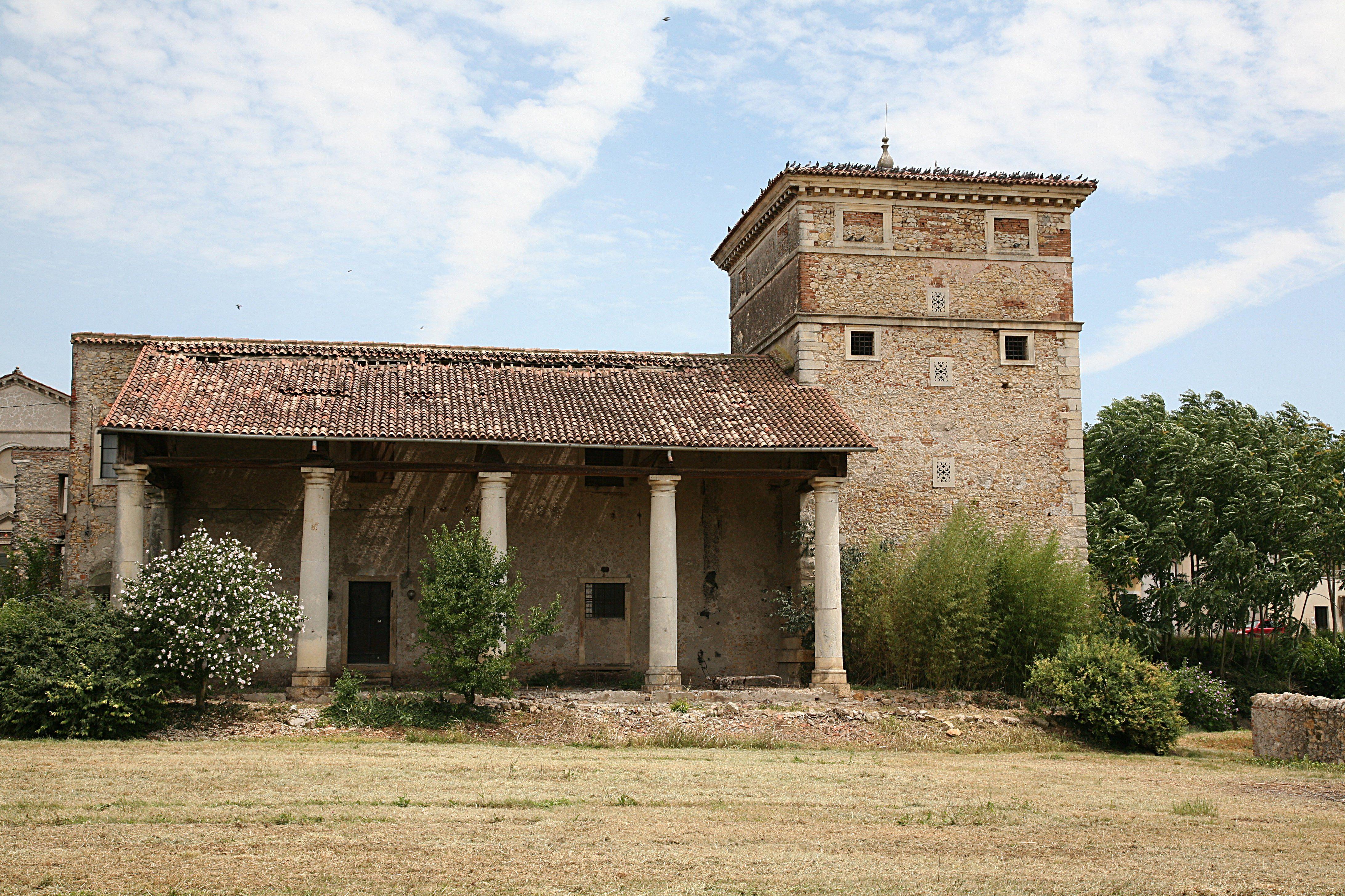 Villa Trissino is an aristocratic villa