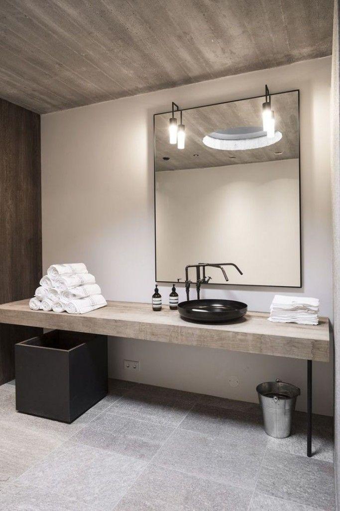 Inspiratieboost: 11x badkamers met zwarte kranen | Waschbecken und Bäder