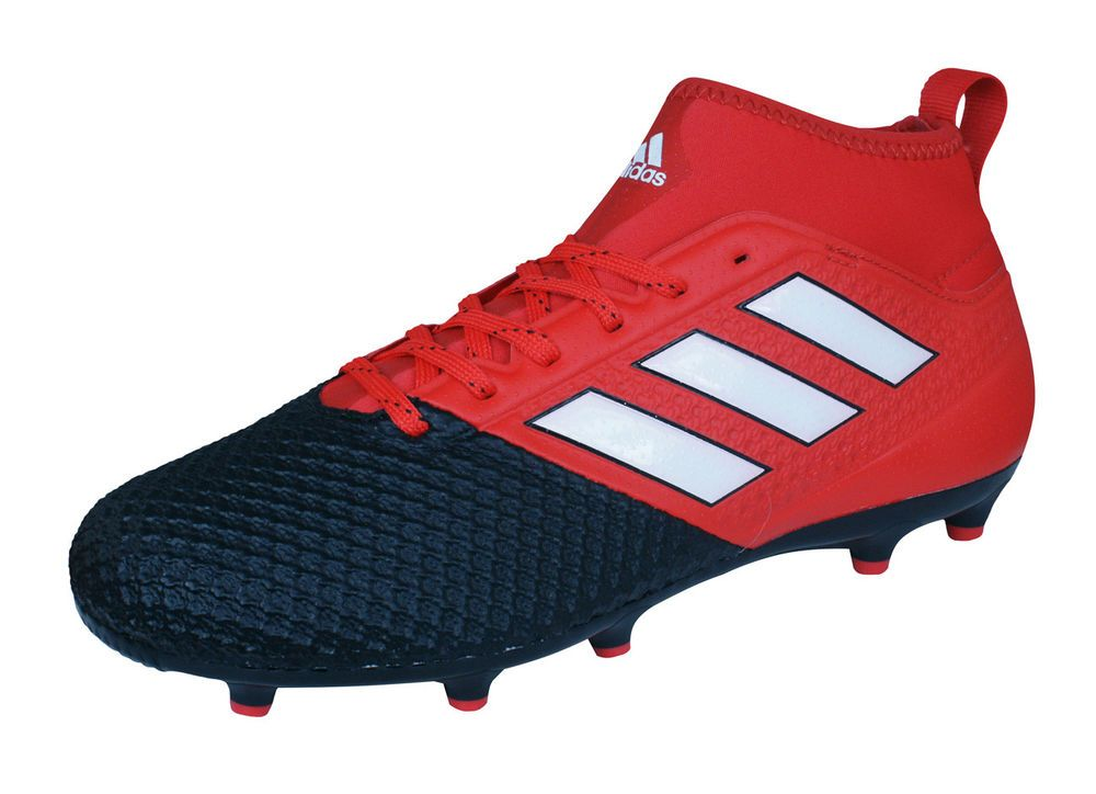 5d3acb7d5ef2 adidas Ace 17.3 Primemesh FG Men Soccer Cleats Football Grass 4G Astro Red  Black (eBay Link)