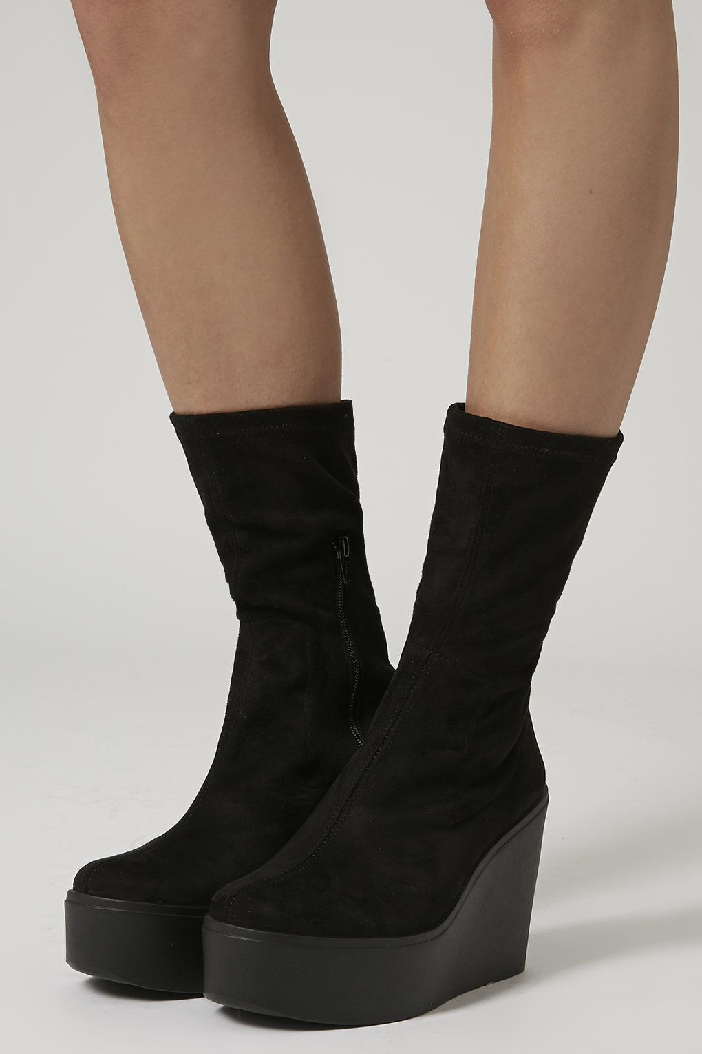 32099006d4e HERO Stretch Wedge Boots
