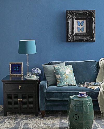 Petrol Blue Living Room Blue Living Room Chesterfield Sofa Living Room Lounge Interiors